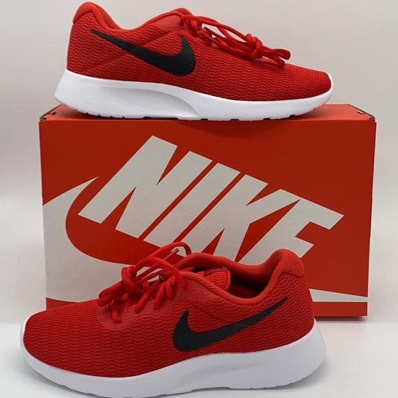 Nike Mens Original Tanjun 812654-601 Red Black